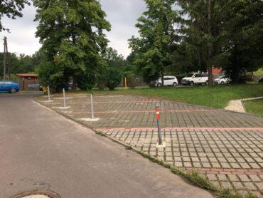 Errichtung von neuen PKW-Stellplätzen in Meuselwitz